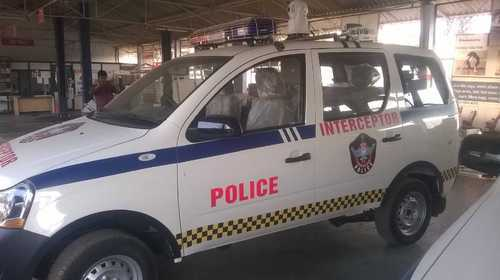 Traffic Interceptor Vehicle At Rs 9000 Day Mobile Van Id
