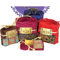 Tea in Velvet Pouches