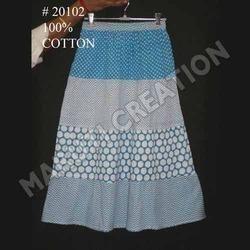 Kids Cotton Skirt