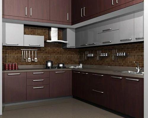 Italian Laminated Modular Kitchen Schoen Interiors Faridabad Id