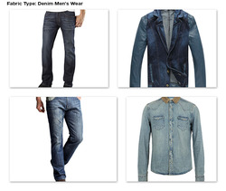 Denim Fabric for Men Apparel