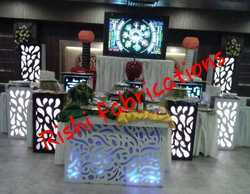Acrylic Catering Counter