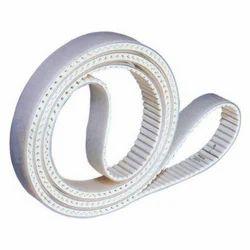 White PU Timing Belt