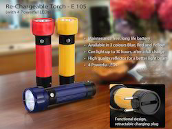 Power Plus Rechargeable Torch