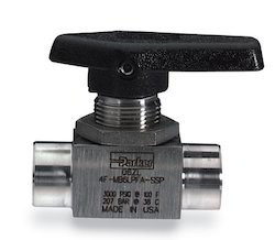 2 Way Short Handle Ball Valve