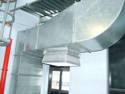 Aluminium Smoke Exhaust System