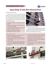 Article published in CE & CR July 2013 issue
