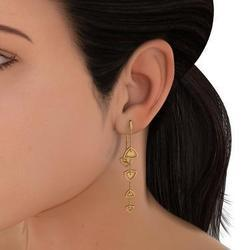 Gold Earrings In Patna स न क ब ल य पटन