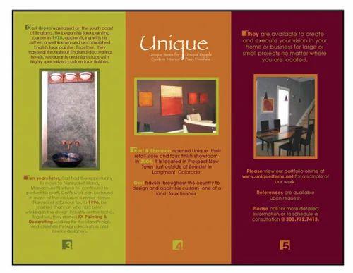 pamphlet brochure