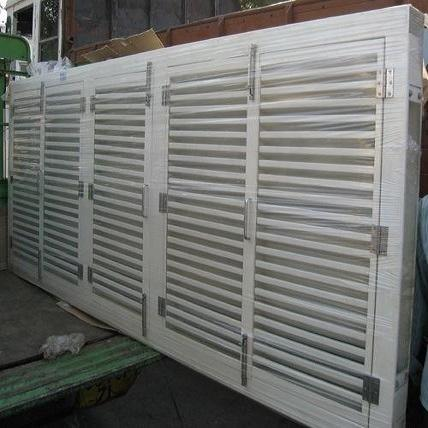 Light Metal Fabrication Fixed Louvers Manufacturer From