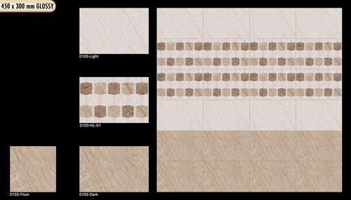 Ceramic Wall Tiles 300 X 450 at Rs 400 /piece(s) | Ceramic Wall ...