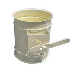 Round Volume Control Duct Damper