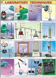 Laboratory Techniques For Chemistry Lab Display Chart