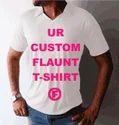 Customized Men Collar T-shirt