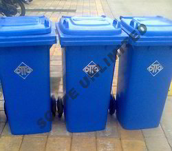 Two Wheeled Garbage Dustbins
