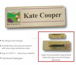 Magnetic Name Plate