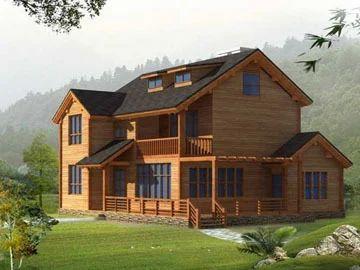 Deluxe Wooden House