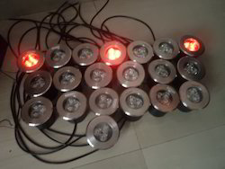 Under Water, IP68 LED Light - Red
