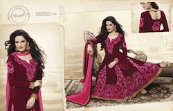 Embroidered Anarkali Kurtis