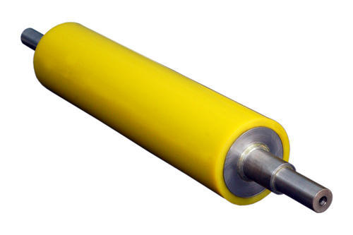 Rubber Roll Pu Coated Rubber Rollers Manufacturer From
