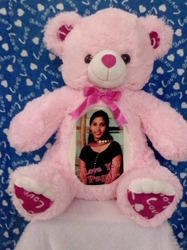 Personalized Teddy Bear with Photo
