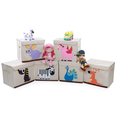 White Kids Colored Storage Boxes  sc 1 st  IndiaMART & White Kids Colored Storage Boxes Rs 600 /piece Pure Play Media ...