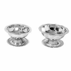 MIINOX Silver Serving Dishes (Sundae)