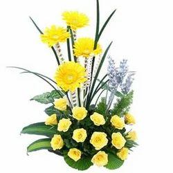 Happy Day Flower Basket