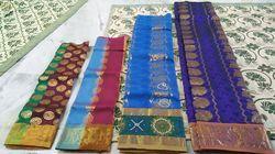 Traditional Pattu Pavadai Sarees