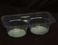 2Pcs Mava Cake PVC Tray