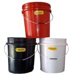 Covered Plastic Buckets