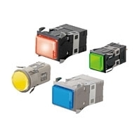Indicator (Square) Ultra Bright LED Type M2P