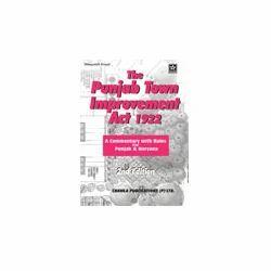 Punjab Town Improvement Act 1922 Book