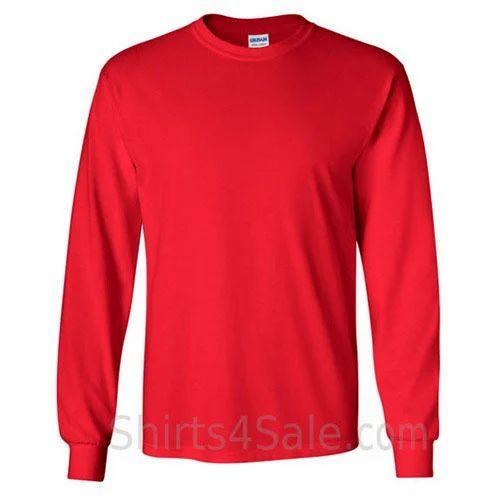 Cotton Long Sleeve Men T Shirt db5964f50173