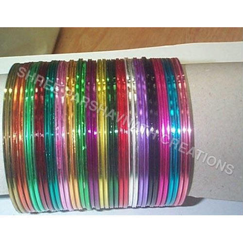 21ba5ec51c454 Multi Color Metal Bangles