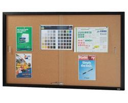 Sliding Glass Notice Boards