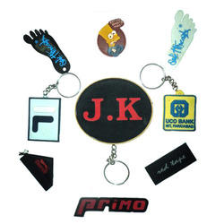Silicone Rubber Printed Key Ring