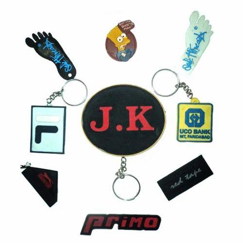 Printed Silicone Key Ring