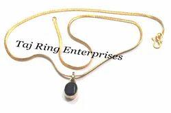 Goomed Stone Locket Necklace