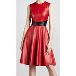 Girls Leather Dress