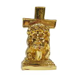 Jesus Christ Gold Plating Statue