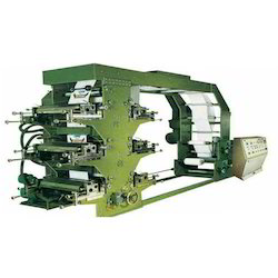 Industrial Flexographic Printing Machine