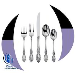 Silver Grey Hanging Design Steel Cutlery