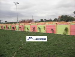 RCC Pasted Compound Wall