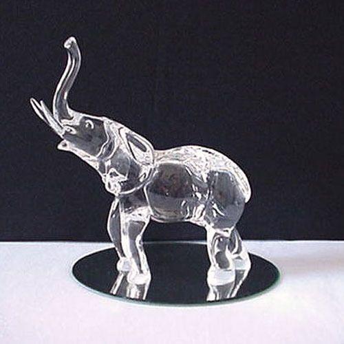 Semi Precious Crystal Elephant Figures Asha Gem Jewels Jaipur