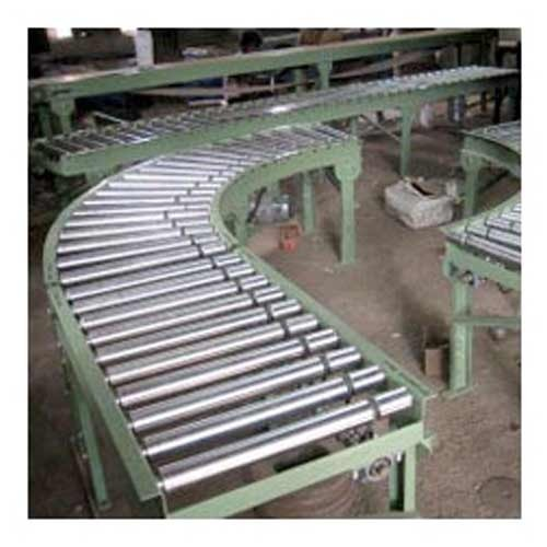 Powered Roller Conveyor - Pesticides Bottle Induction Sealing
