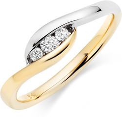 Queen Gold Plated Diamond Ring
