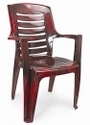 Cream Large High Back Cello Ultra Chair For Outdoor