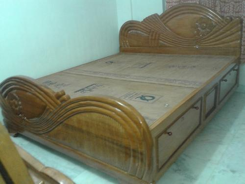 Wooden Bed   Stylish Pure Box Bed