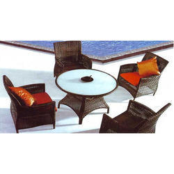 Rattan Chairs And Tables